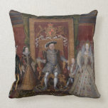 An Allegory of the Tudor Succession: The Family of Throw Pillows