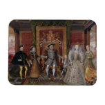 An Allegory of the Tudor Succession: The Family of Rectangle Magnet