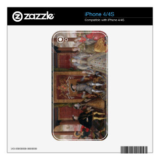 An Allegory of the Tudor Succession: The Family of Skin For The iPhone 4