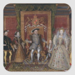 An Allegory of the Tudor Succession: The Family of Square Stickers