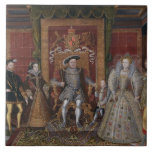 An Allegory of the Tudor Succession: The Family of Ceramic Tile