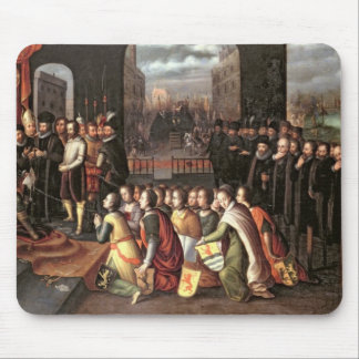 An Allegory of the Tyranny of the Duke of Alba Mouse Pad
