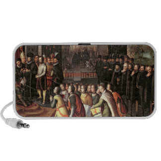 An Allegory of the Tyranny of the Duke of Alba iPhone Speaker