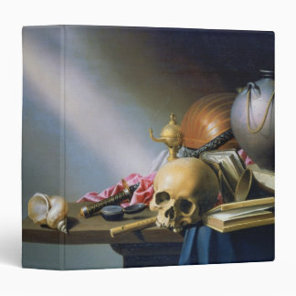 An Allegory of the Vanities of Human Life 3 Ring Binder