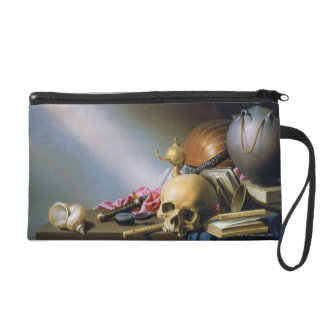 An Allegory of the Vanities of Human Life Wristlet Purses