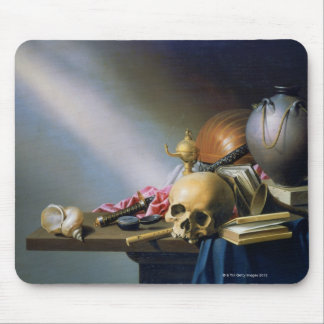 An Allegory of the Vanities of Human Life Mouse Pad