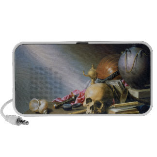 An Allegory of the Vanities of Human Life Portable Speaker
