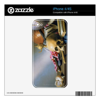 An Allegory of the Vanities of Human Life Skins For iPhone 4