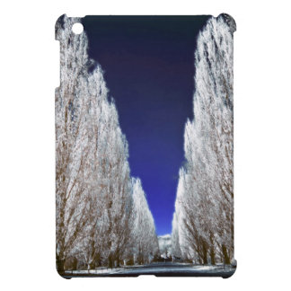 An alley in infrared iPad mini cover