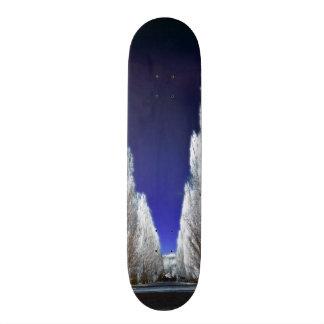 An alley in infrared skateboard