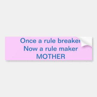 An amazing bumper sticker for an amazing mom! car bumper sticker