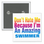 An Amazing Swimmer Button