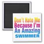 An Amazing Swimmer Magnet