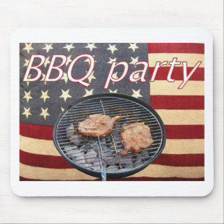 An American BBQ party Mouse Pad