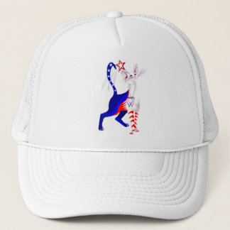 An American Cat and star Hats