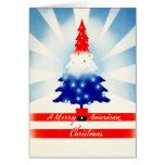 An American Christmas Vintage Card