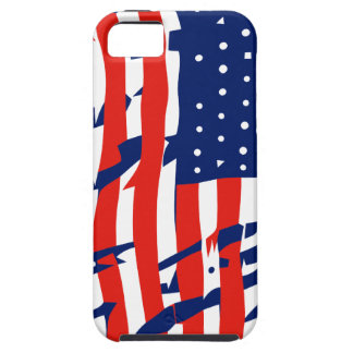 An American flag iPhone SE/5/5s Case