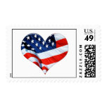 An American Heart Postage