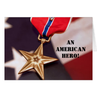 An American Hero! Greeting Card