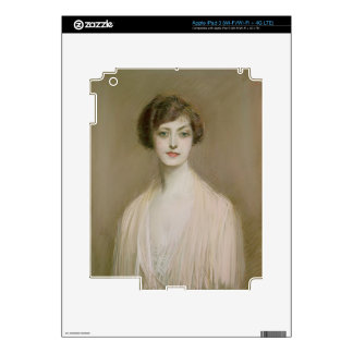 An American (pastel on canvas) Decal For iPad 3