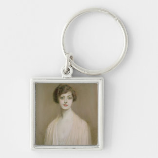 An American (pastel on canvas) Keychain