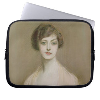 An American (pastel on canvas) Laptop Sleeve