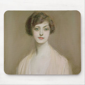 An American (pastel on canvas) Mouse Pad
