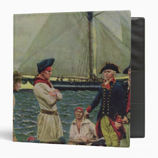 An American Privateer Taking a British Prize Binder
