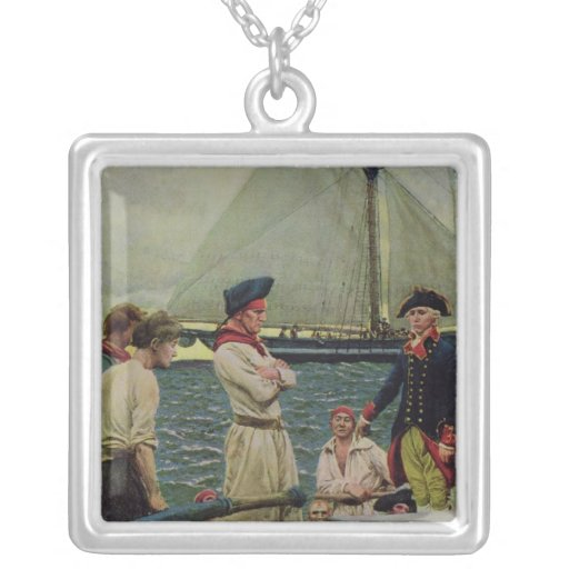 An American Privateer Taking a British Prize Pendants