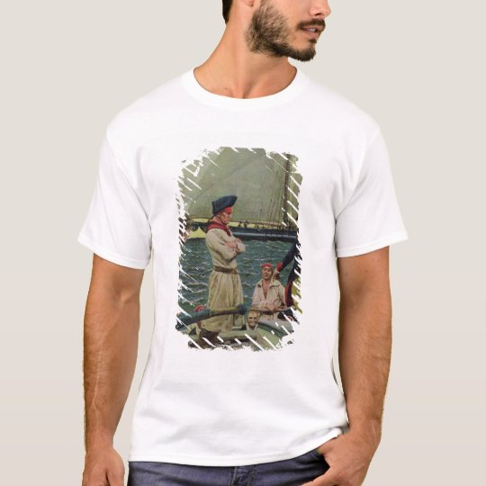 An American Privateer Taking a British Prize T-Shirt