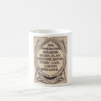 An American Religion Elbert Hubbard Coffee Mug