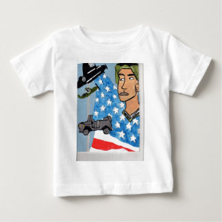 An American Soldier Baby T-Shirt