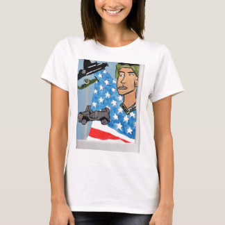 An American Soldier T-Shirt