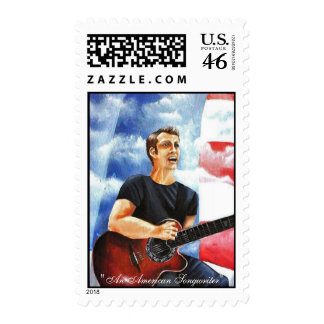 """""""An American Songwriter"""" Stamps"""