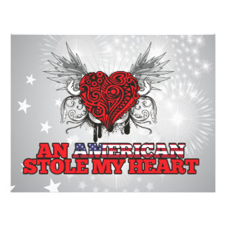 An American Stole my Heart Flyer