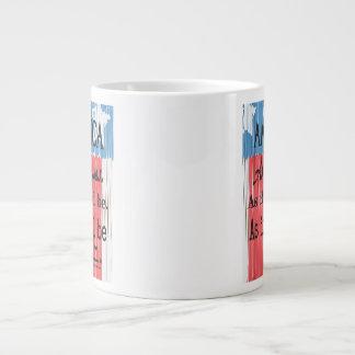 """An American Toast"" Jumbo Coffee Mug"