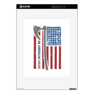 An American Viking - Valhalla Pride Decal For The iPad
