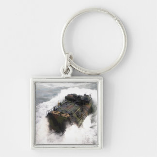 An amphibious assault vehicle 2 keychain