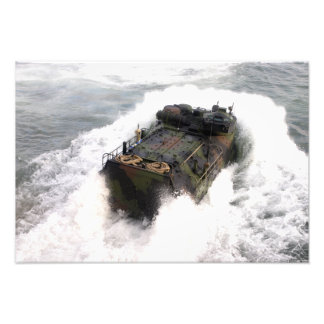 An amphibious assault vehicle 2 photo print