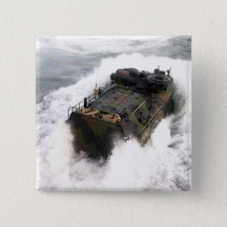 An amphibious assault vehicle 2 pinback button