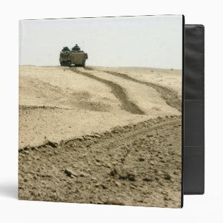 An amphibious assault vehicle binder