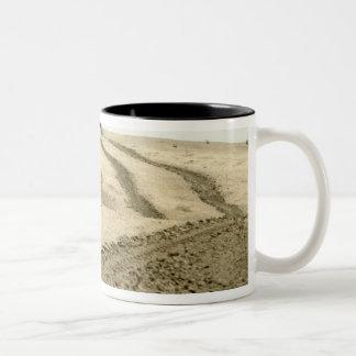 An amphibious assault vehicle Two-Tone coffee mug