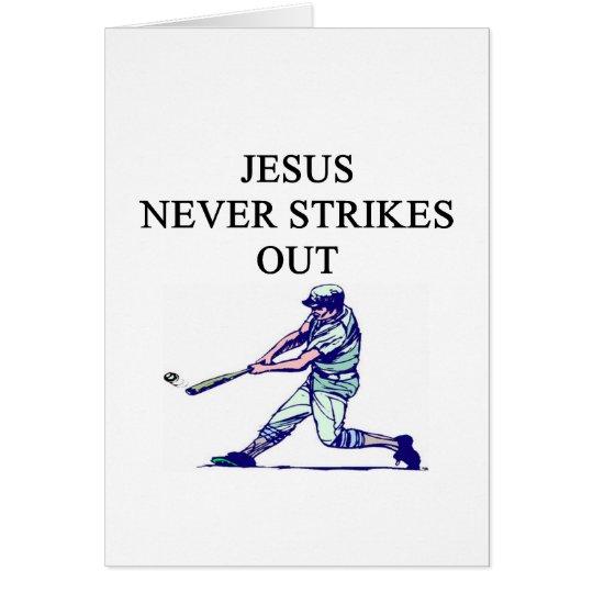 an amusing jesus truth card