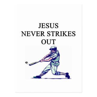 an amusing jesus truth postcard