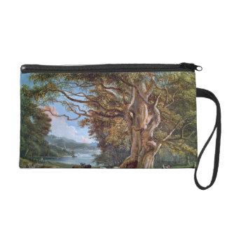 An Ancient Beech Tree, 1794 (oil on canvas) Wristlet Purse