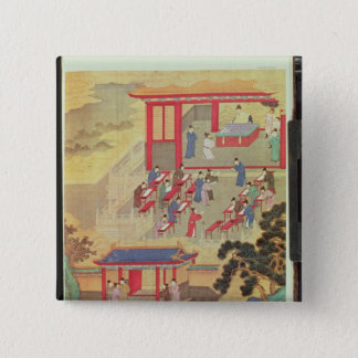 An Ancient Chinese Public Examination Pinback Button