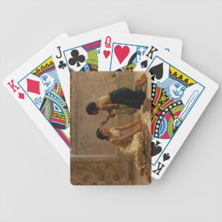 An Ancient Custom Bicycle Playing Cards