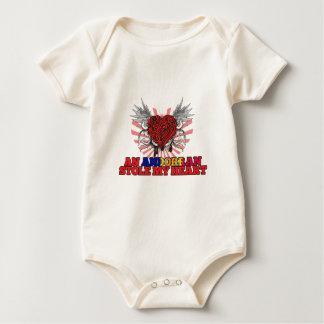 An Andorran Stole my Heart Baby Bodysuit