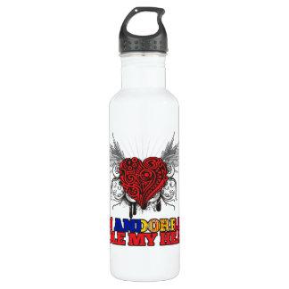 An Andorran Stole my Heart Stainless Steel Water Bottle