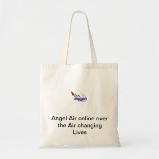 An Angel Air tote bag
